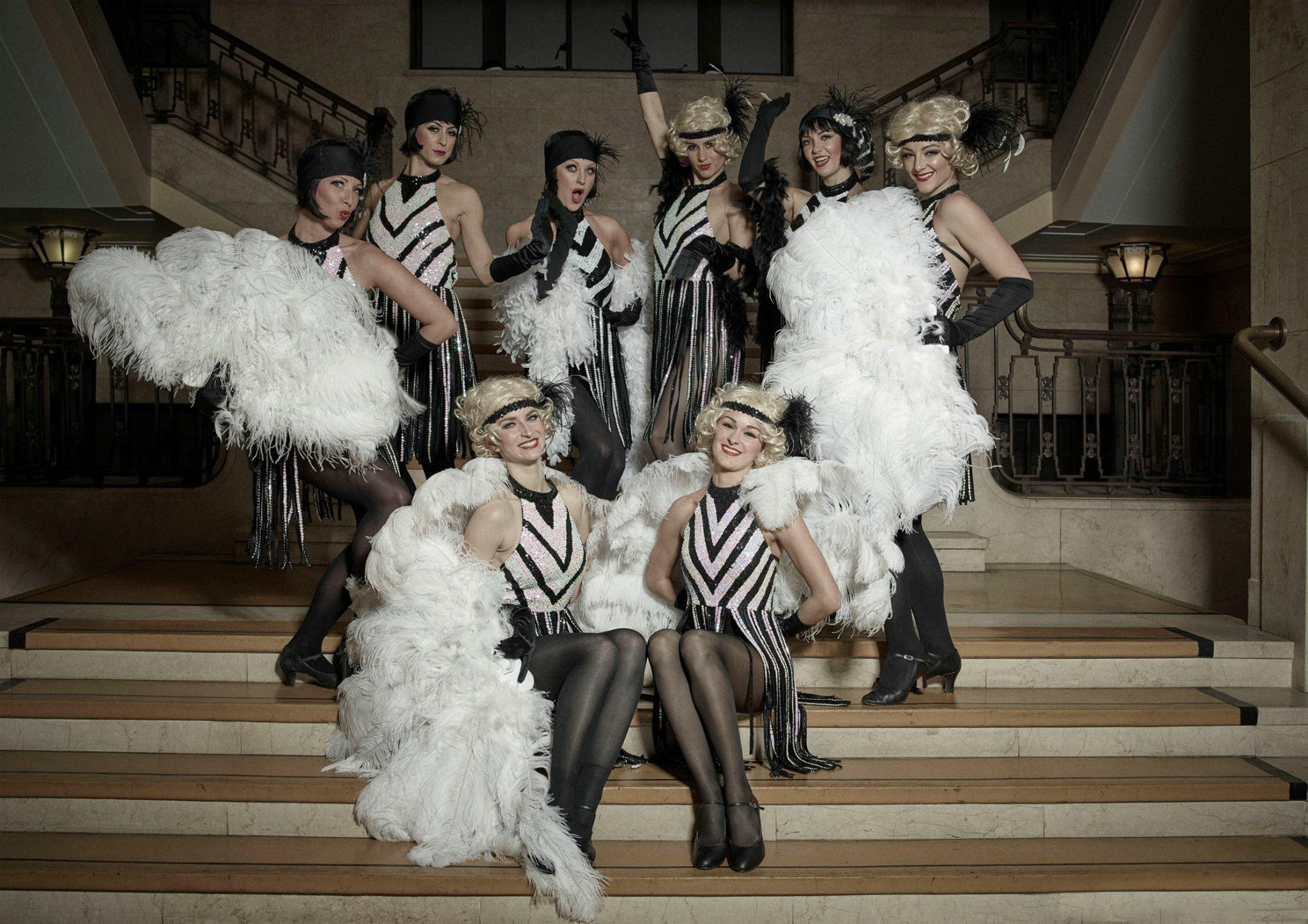 Great Gatsby Dancers Sugartown Entertainment